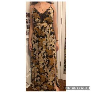 FashionNova Golden Summers Dress